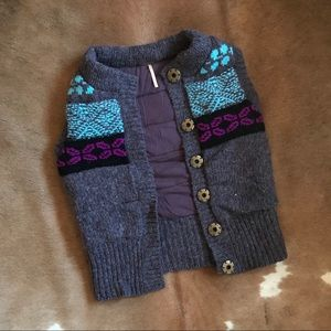 Free People Embroidered Puffer Vest